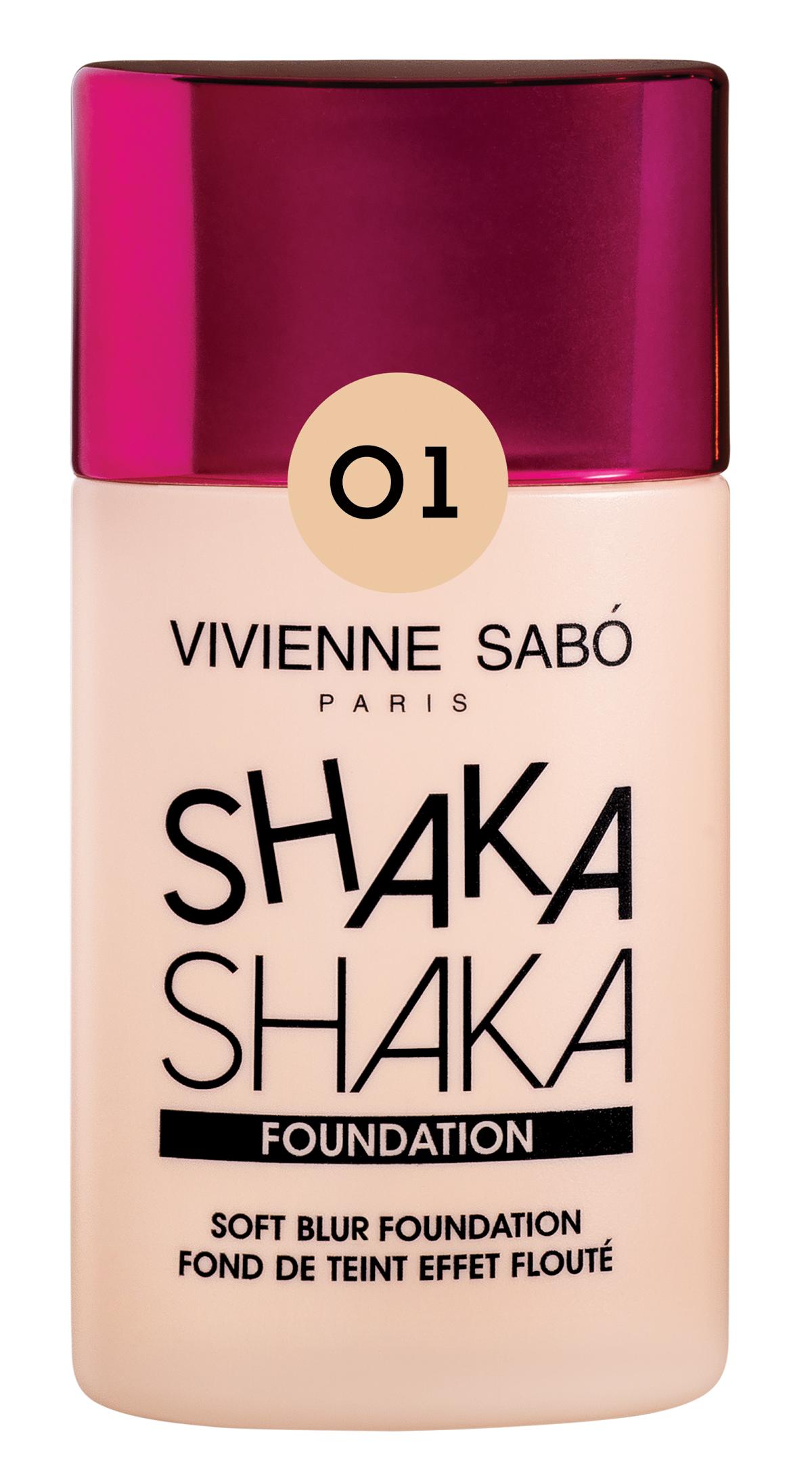 Vivienne Sabo - Soft Blur Foundation Vivienne Sabo - Shaka Shaka Foundation mit Blur-Effekt