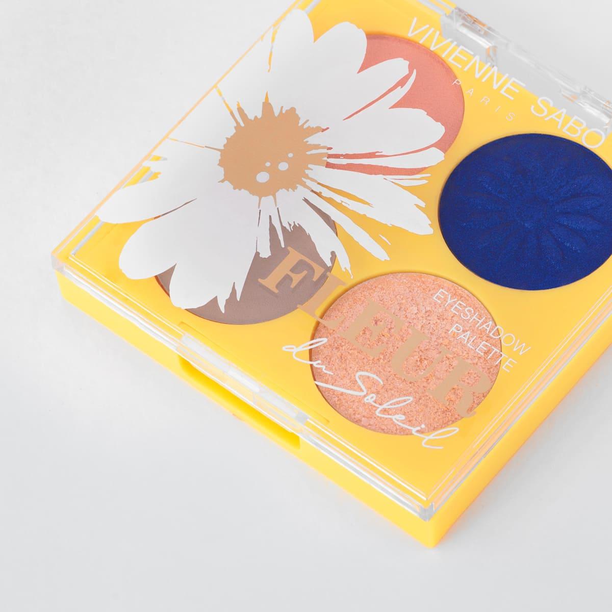 Vivienne Sabo - Eyeshadow Palette - Fleur du Soleil 02